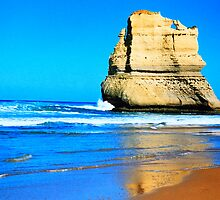 Apostle Rock Like A Sailing Ship by Ronald Rockman