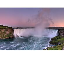 Power of Horseshoe - Niagara Falls  Photographic Print