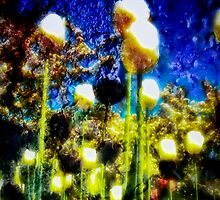Flowers of Yellow and Black Towering over my Head by Theodore Black