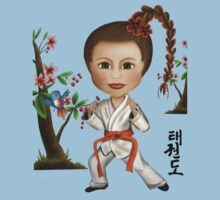 Taekwondo Girl Kids Clothes