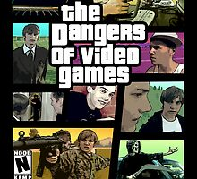 The Dangers of Video Games Poster by Jeremy Kohrs