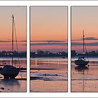 Heybridge Basin Near Malden  Essex  UK by James  Key