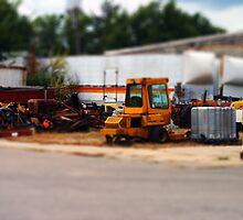 Mini Tractors by Jeffrey J. Miller