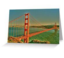 The Golden Gate Bridge  Greeting Card