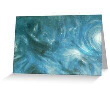 Stars go Blue Greeting Card