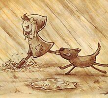 Rain by Ine Spee