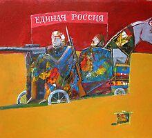 Kremlin tandem by Valeriu Buev