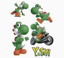 Yoshi Compilation by Bronydragon