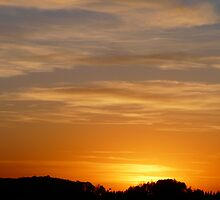 Harvest Sunset.. by MaeBelle