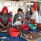 Fishmarket in Puerto Vallarta - Mercado De Pescado En PV by Bernhard Matejka