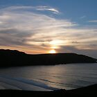 Sunset at Cliff, Lewis by epgaskell