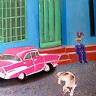 street life in Trinidad, Cuba by Elena Malec