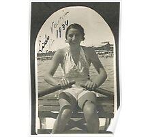 LA ZIA ANGELA AL LIDO DI VENEZIA - ITALIA  1934- 3000 VISUALIZZAZ.MAGGIO 2013  -  &  FEATURED RB EXPLORE 10 OTTOBRE 2011 ---. Poster