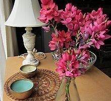 Pink Blooms by Lunaria