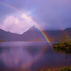 Rainbow at Cradle Mountain by cschurch