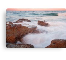 The Entrance Rocks Sunset Canvas Print