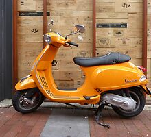 Vespa - East End, Adelaide by Adam JL Dutkiewicz