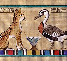 Mwt and Amun: Spirit Animals by Aakheperure