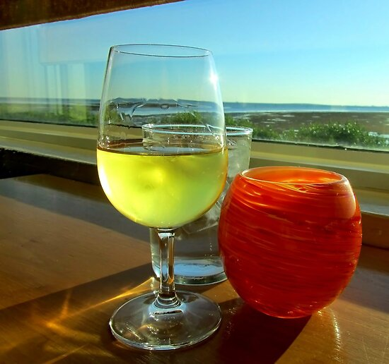 *Pinot with a View* by DeeZ (D L Honeycutt)