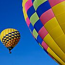 Hot air balloons by Garry Gay