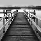 Black and white jetty by Jayde Aleman