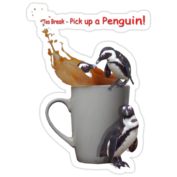 Tea Break - Pick up a Penguin! by Susie Hawkins