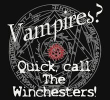 Vampires? Call The Winchesters! by RubyFox