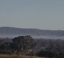Early Morning over Trawool Valley, Vic by warmonger62
