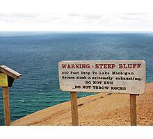 Sleeping Bear Dunes, Michigan, Again ~ A Notable Reality Photographic Print