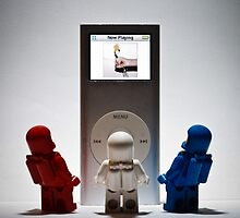 ipod by Ken Gillies
