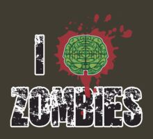 I (Headshot) Zombies by buzatron