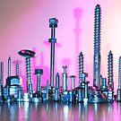 Pink city by Lindie
