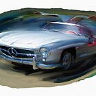 Mercedes Gullwing by RGMcMahon
