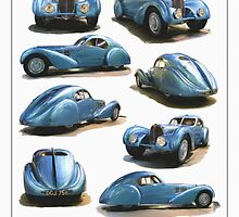 1936 Bugatti Atlantic Type 57C by RGMcMahon