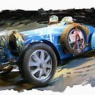 Bugatti Roadster by RGMcMahon