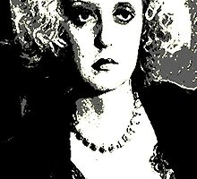 "Ruth Elizabeth ""Bette"" Davis by OTIS PORRITT"