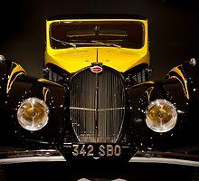 1937 Type 57S Atlante Bugatti by Lee LaFontaine