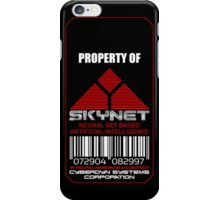 Property of Skynet iPhone case iPhone Case/Skin