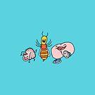 """Willy Bum Bum - """"Willy Wasp Bum"""" by alienredwolf"""