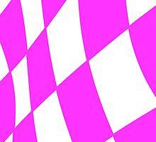 Race flag Pink by Andreas  Berheide