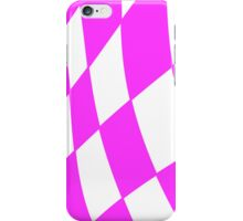 Race flag Pink iPhone Case/Skin