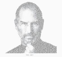 RIP Steve Jobs - Mosaic by wittytees