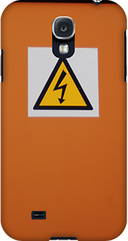 DANGER!   iphone/samsung galaxy cover by mellychan