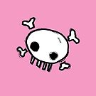 Cute Skull - Pink by shireshirts