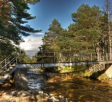 The Cairngorm Club Footbridge by VoluntaryRanger