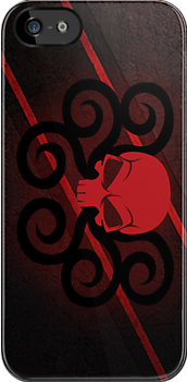Hydra Red Skull Logo by RiskGambits