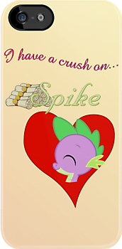 I have a crush on... Spike by Stinkehund