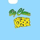 Big Cheese iPhone Case by simpsonvisuals