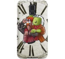'Meep To The Future' - Beaker McMeep and Doc Honeydew Samsung Galaxy Case/Skin