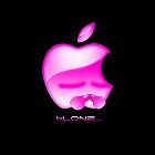 Apple I-Lone Pink by Saing Louis